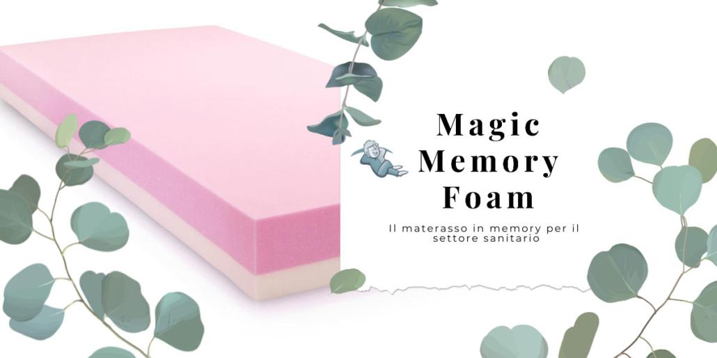 Materasso per ospedale in memory
